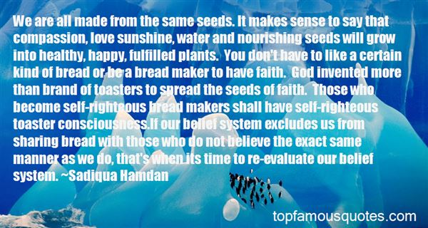 Quotes About Nourishing