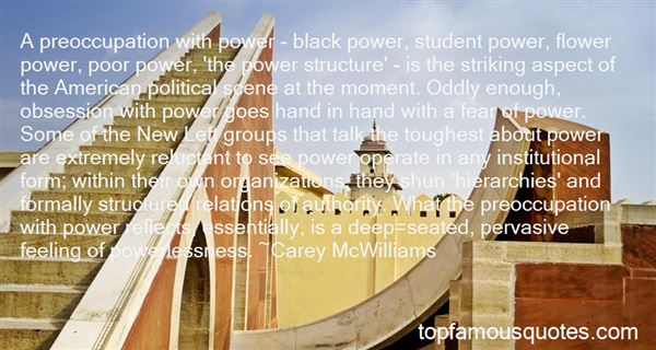 Quotes About Obsession Of Power