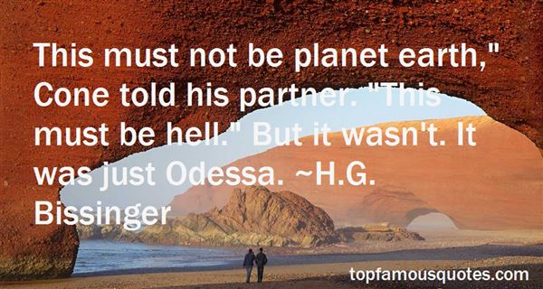 Quotes About Odessa