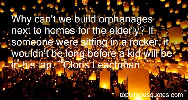 Quotes About Orphanages
