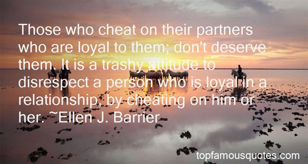 Quotes About Partners Who Cheat