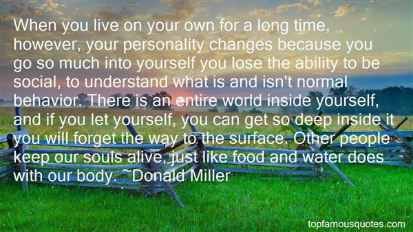 Quotes About Personality Changes
