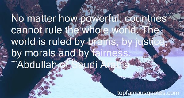 Quotes About Powerful Countries