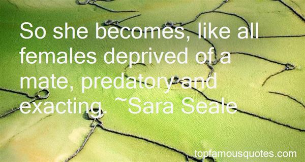 Quotes About Predatory