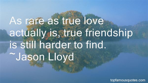 Quotes About Rare True Friends