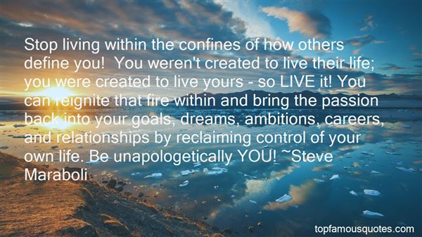 Quotes About Reclaiming Your Life