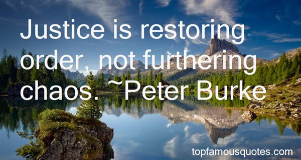Quotes About Restoring Order
