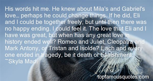 Quotes About Romeo And Juliet Death