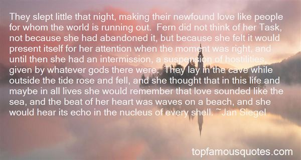 Quotes About Running Out Of Love