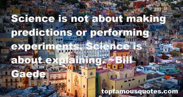 Quotes About Science Experiments
