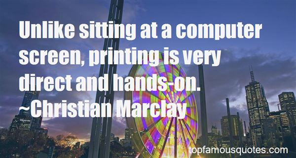 Quotes About Screen Printing