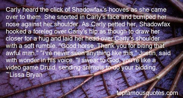 Quotes About Shadowfax