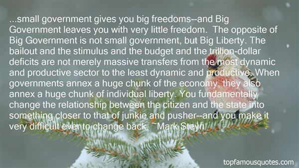 Quotes About Small Government
