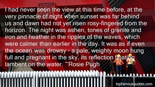 Quotes About Sunset And Water
