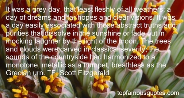 Quotes About Sunshine And Clouds