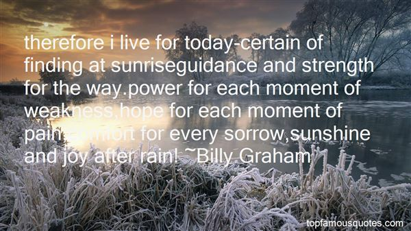Quotes About Sunshine And Rain