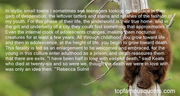 Quotes About Teenage Life And Love