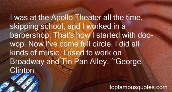 Quotes About The Apollo Theater