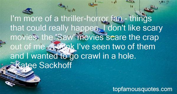 Quotes About Thriller Movies