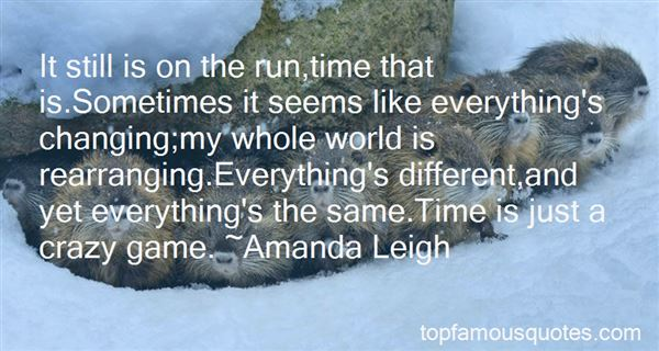Quotes About Time Changing Everything