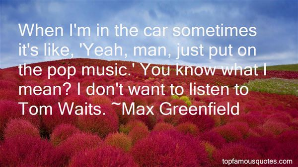 Quotes About Tom Waits