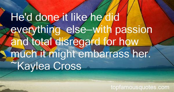 Quotes About Total Disregard