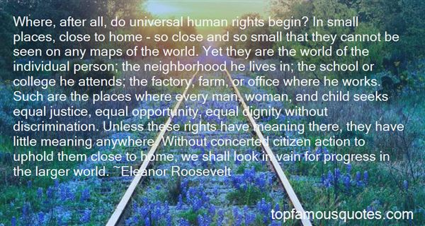 Quotes About Universal Human Rights