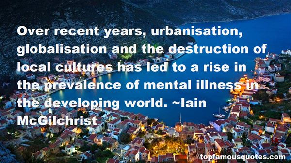 Quotes About Urbanisation