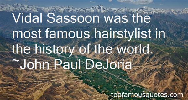 Quotes About Vidal Sassoon