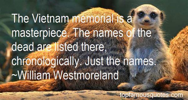 Quotes About Vietnam Memorial