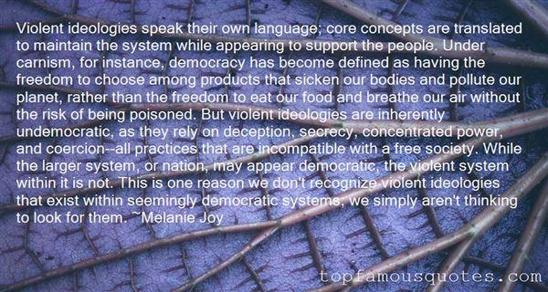 Quotes About Violent Language