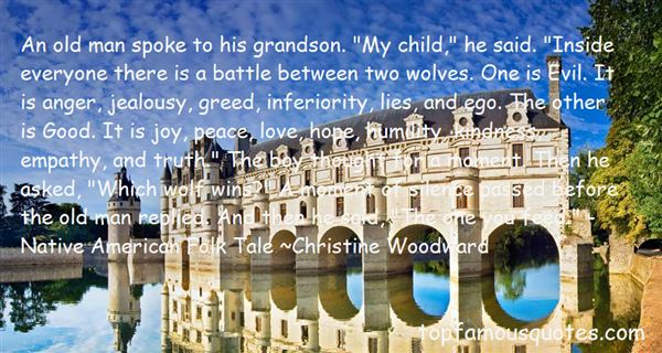 Quotes About Wolves Native American