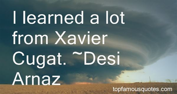 Quotes About Xavi
