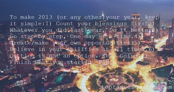Quotes About 2013 Year