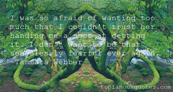 Quotes About Afraid To Trust
