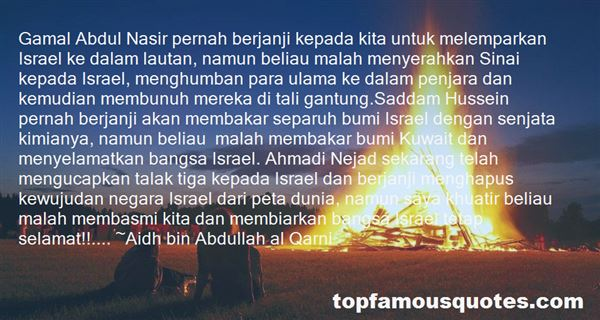 Quotes About Al Hussein