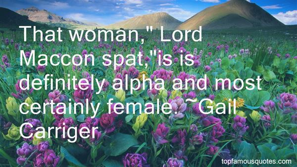 Quotes About Alpha Female