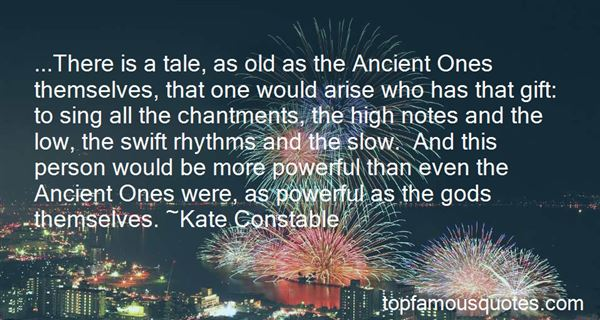 Quotes About Ancient Gods