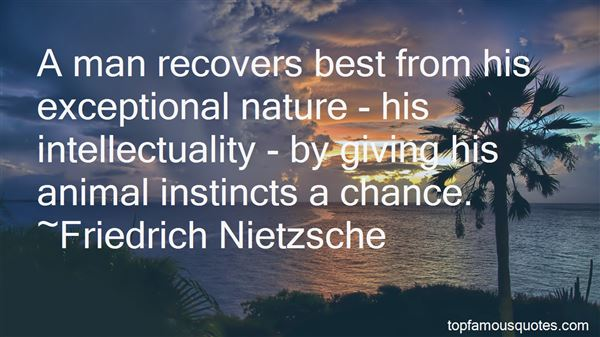 Quotes About Animal Instincts