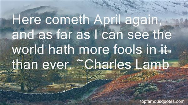 Quotes About April Fools