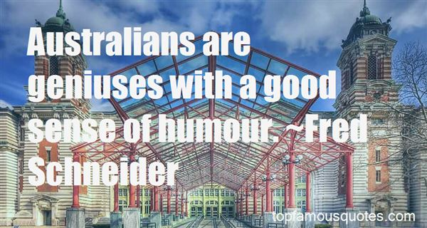Quotes About Australian Humour