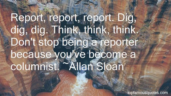 Quotes About Being A Reporter