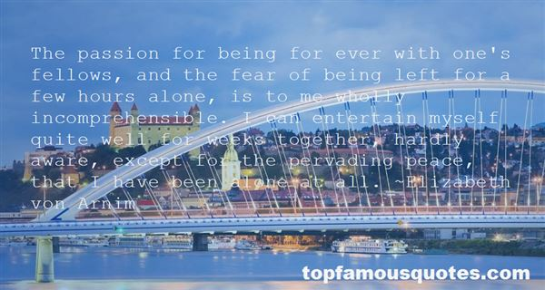 Quotes About Being Alone Together