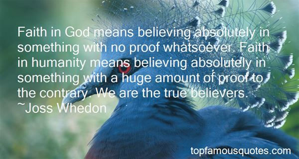 Quotes About Believing In Something