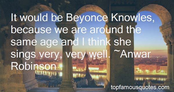 Quotes About Beyonce Knowles