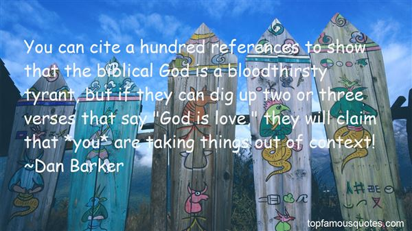 Quotes About Biblical Context