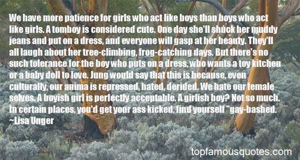 Quotes About Boyish Girl