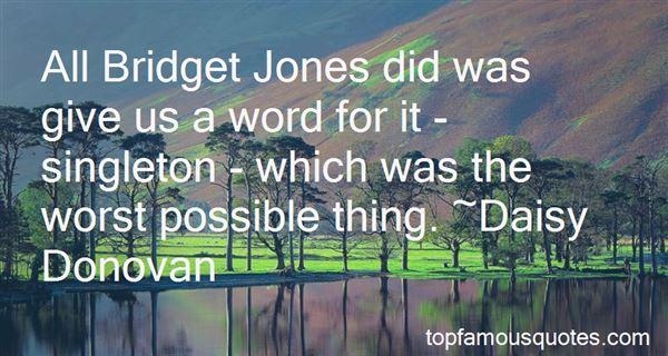 Quotes About Bridget Jones