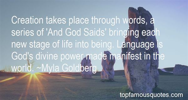 Quotes About Bringing Life Into The World