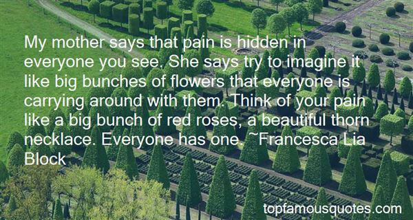 Quotes About Bunch Of Flowers